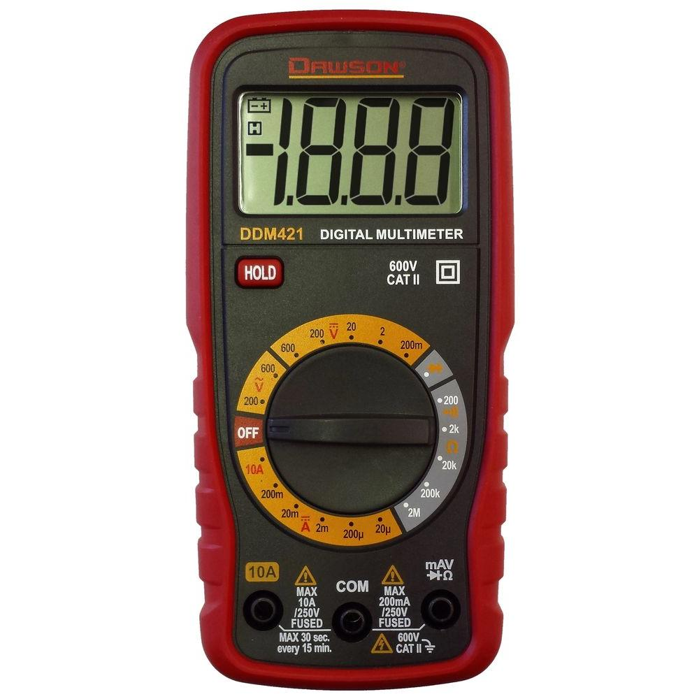 Compact Digital Multimeter with Audible Continuity